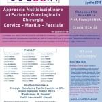 Approccio Multidisciplinare al Paziente Oncologico in Chirurgia Cervico - Maxillo - Facciale