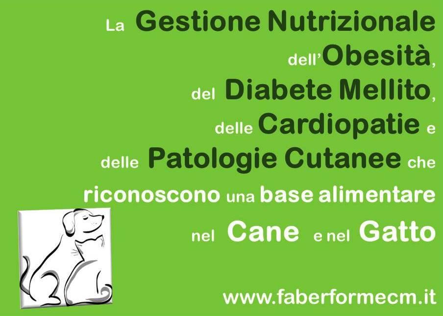 la Gestione nutrizionale di obesità, diabete, cardiopatie, patologie cutanee
